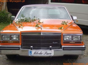 Cadillac Fleetwood Brougham idealny do ślubu