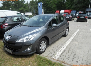 PEUGEOT 308 1.6 BENZYNA