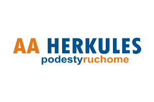 Logo AA Herkules Podesty Ruchome